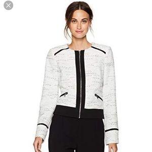 CALVIN KLEIN Women's Center Zip Jacket. Size 16.